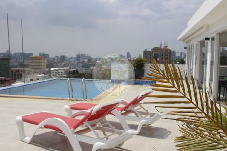 One Bedroom of Luxurious Apartment. Real Estate Sihanoukville.