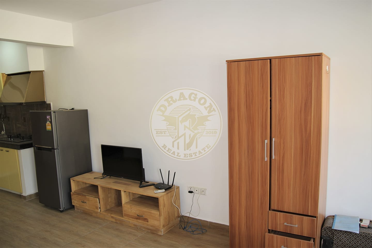 Fully-Furnished Studio Apartment for 300 Dollar a Month. Sihanoukville Monthly Rental