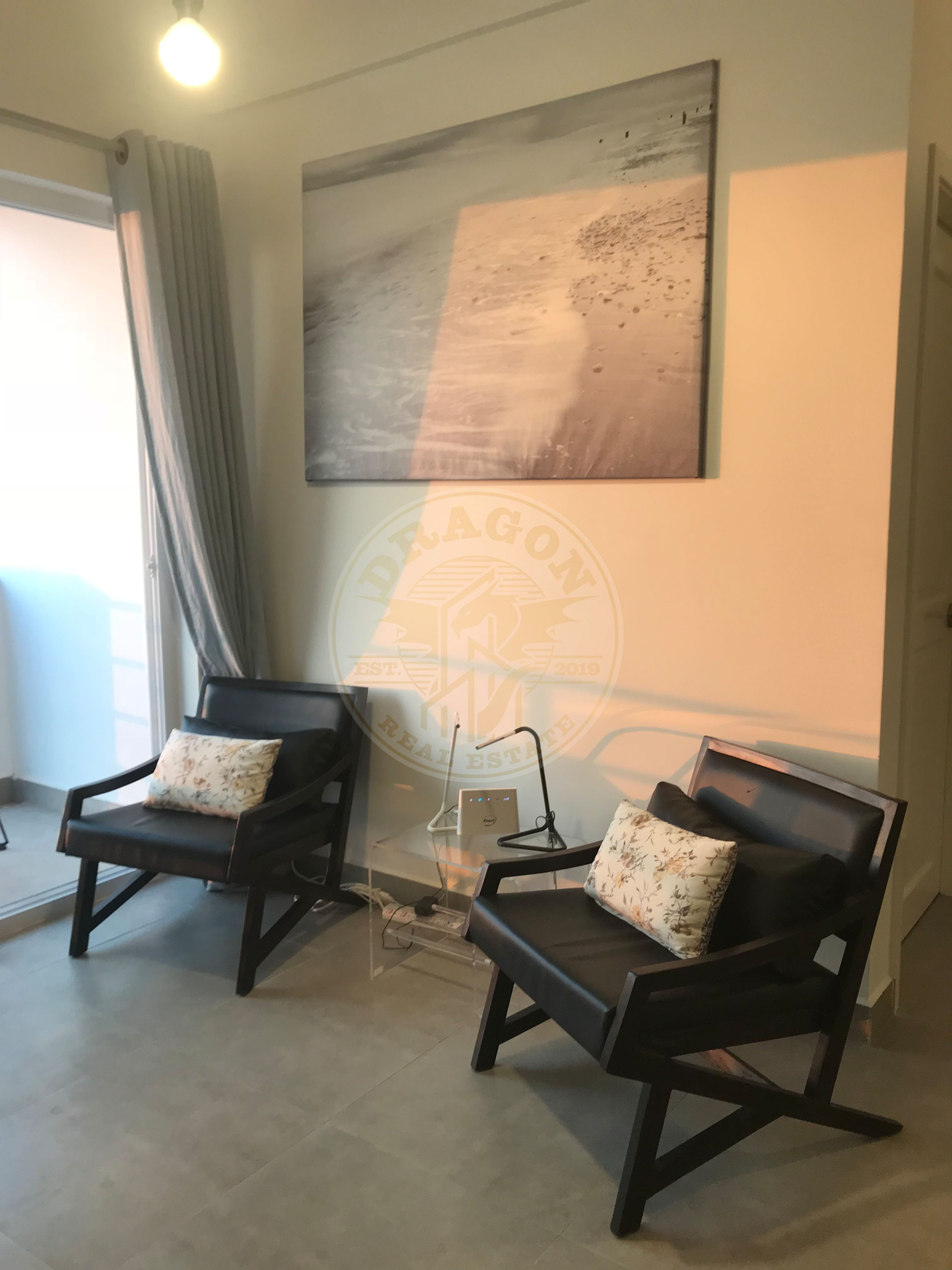 Beautiful Fully Furnished Two Rooms Apartment with Fantastic View. Sihanoukville Cambodia Property Sale