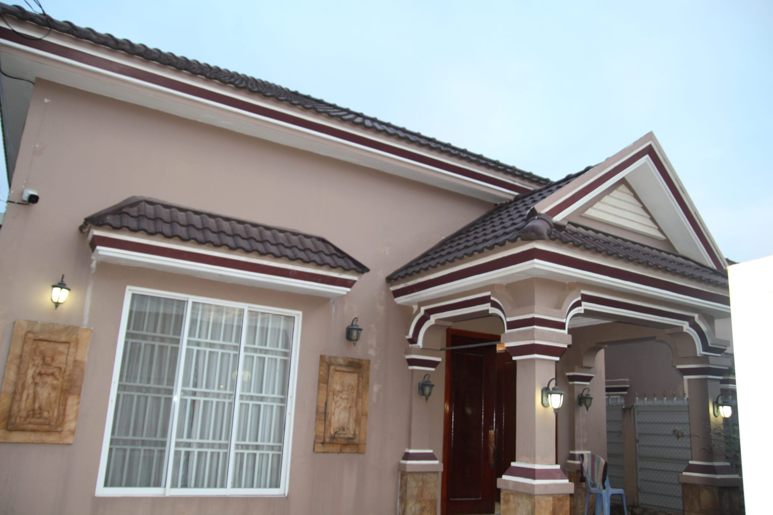 Two-bedroom house with CCTV for rent