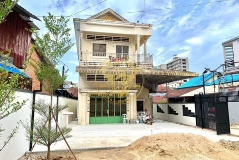 , 2 Storey Home For Rent In Sihanoukville