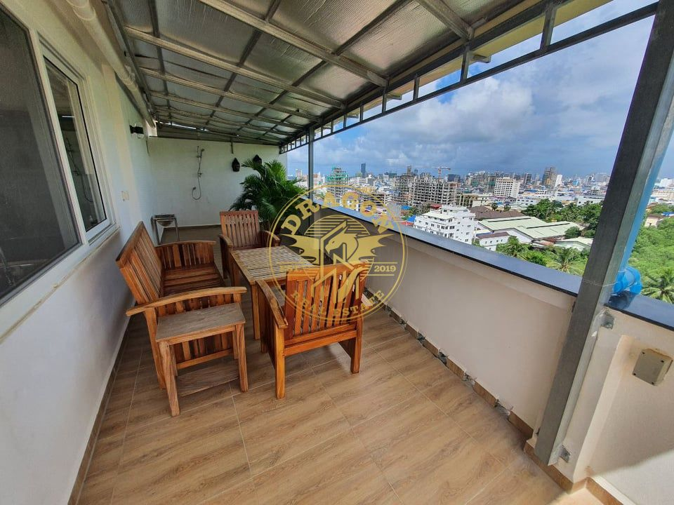 Penthouse In Sihanoukville with amazing view & pool